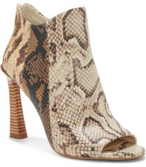 vince camuto aritziana peep-toe shooties women's shoes