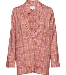 carla blazer colbert roze six ames