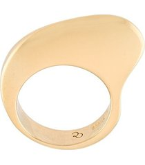 charlotte chesnais curvy ring - yellow