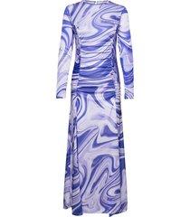 asta dress dresses everyday dresses blå hosbjerg