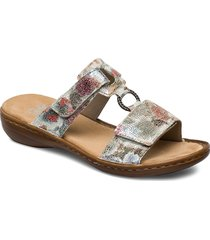 60885-90 shoes summer shoes flat sandals multi/mönstrad rieker