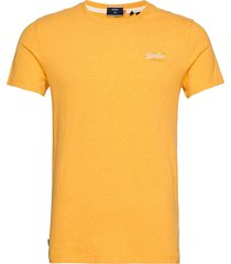 ol vintage emb tee t-shirts short-sleeved gul superdry