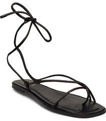 oita shoes summer shoes flat sandals svart aldo
