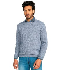 sweater casual azul guy laroche