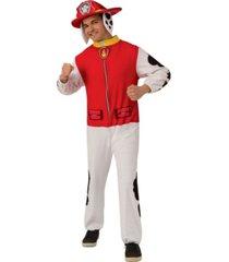 buyseasons men's paw patrol marshall adult jumpsuit adult costume