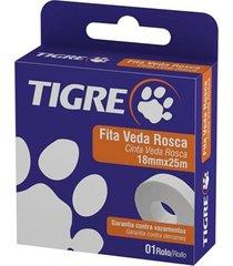 fita veda rosca tigre, 18 mm x 50 m - 54501951