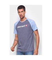 camiseta element blue ruin masculina
