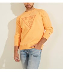 guess men's embroidered logo sweatshirt