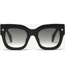 ocean d-frame sunglasses black 1