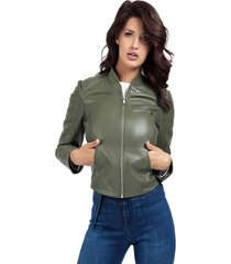 chaqueta persefone jacket verde guess
