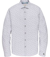 long sleeve shirt cf print line bright white