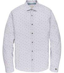long sleeve shirt cf print line bright white
