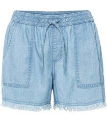 shorts in tencel™ lyocell (blu) - bodyflirt