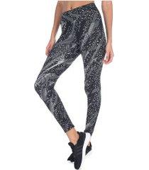 calça legging oxer movimento - feminina - preto/branco