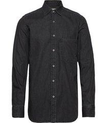 d-ber-p shirt overhemd casual zwart diesel men