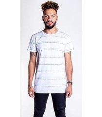 t-shirt thesaint básica com escritos - gg - branco - unissex