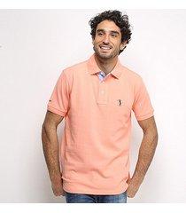 camisa polo aleatory masculino pique bordado-5500-115