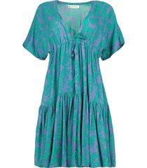 jurk met print tanah  lavendel