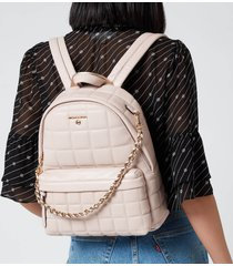michael michael kors women's slater medium backpack - soft pink