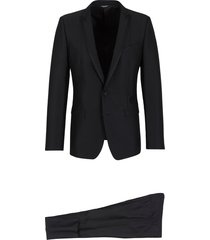 smoking suit with two buttons