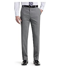 1905 collection tailored fit flat front dress pants clearance by jos. a. bank