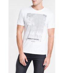 camiseta ckj mc est urbancity scape nyc - branco - gg