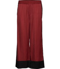 toryiw pant wijde broek rood inwear