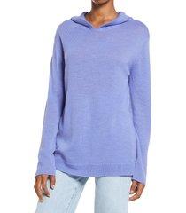 women's ninety percent spiderweb hoodie, size small - purple