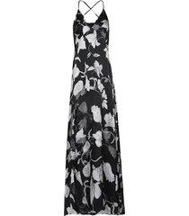 vestido kika simonsen estampado preto