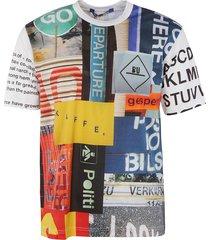 junya watanabe all-over printed t-shirt