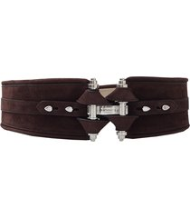 chocolate obsedia waist belt