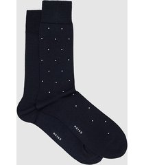 reiss graham - two pack socks in navy, mens