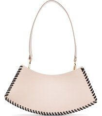 elleme swing leather shoulder bag - pink
