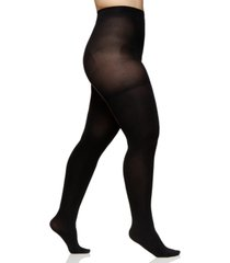 berkshire women's easy-on queen plus size max coverage tights 5036