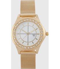 reloj dorado versace 19.69