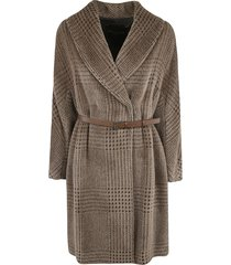fabiana filippi belt on waist patterned trench