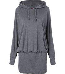 vestito con cappuccio pullover con cappuccio con cappuccio plus size plus