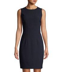 tera sleeveless sheath dress