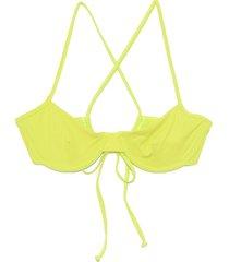 mazlyn bikini top in beat