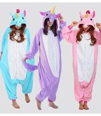 adult unisex animal onesie costume unicorn pony kigurumi pajamas  hot new gift
