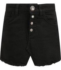 dondup black skirt for girl