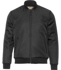 jaqueta masculina bomber double - preto