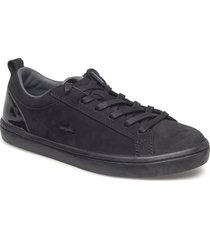 straightset 318 1 låga sneakers svart lacoste shoes