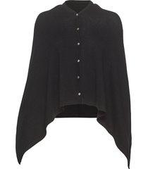 poncho poncho regnkläder svart rosemunde