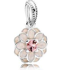 charm pendente dália flor da gentileza [único]