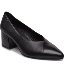 mya shoes heels pumps classic svart vagabond