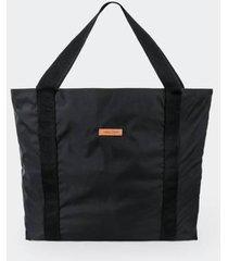 bolso color siete para mujer - negro