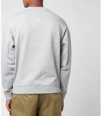 kenzo men's k-tiger classic sweatshirt - pearl grey - xxl