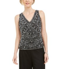 28th & park beaded embroidered top