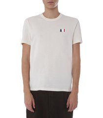 ami alexandre mattiussi round neck t-shirt